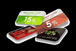 Пластиковые карты как удешевить стоимость.